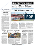 The Daily Tar Heel for November 4, 2013