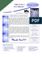 January 08 CIAA Newsletter
