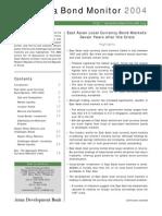 Asia Bond Monitor - November 2004