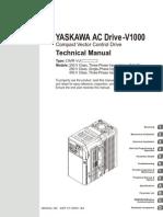 Yaskawa Ac Drive-V1000