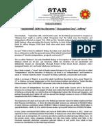 PressRelease-2013-September 16 Has Become Occupation Day -11 September 2013.docx