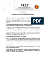 PressRelease-2013-Federal Play to Steal Sabah's Oil -18 September 2013.docx