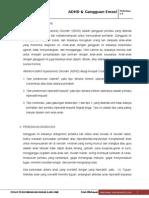 5. ADHD dan Gangguan Emosi - Psi. Abnormal Diah.doc