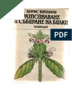 Разпознаване и събиране на билки - Борис Китанов