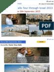 Pastor Tony Hallo Tour through Israel 2013