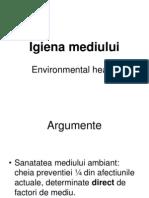 Igiena mediului