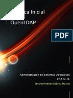 Practica Inicial LDAP