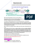 OSPF SPF Algorithm