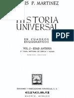 Martinez Jesus - Historia Universal En Esquemas 1 - Edad Antigua.PDF