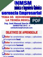 2013 II - GERENCIA EMPRESARIAL - CLASE Nº 08