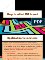 The uses of ICT