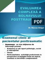 Evaluarea Bolnavului Posttraumatic