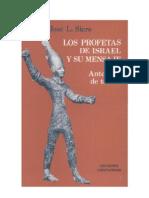 José L. Sicre - Los Profetas de Israel
