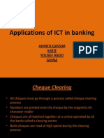 Applications of ICT in banking