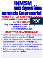 2013 II - GERENCIA EMPRESARIAL - CLASE Nº 09 - PARTE I