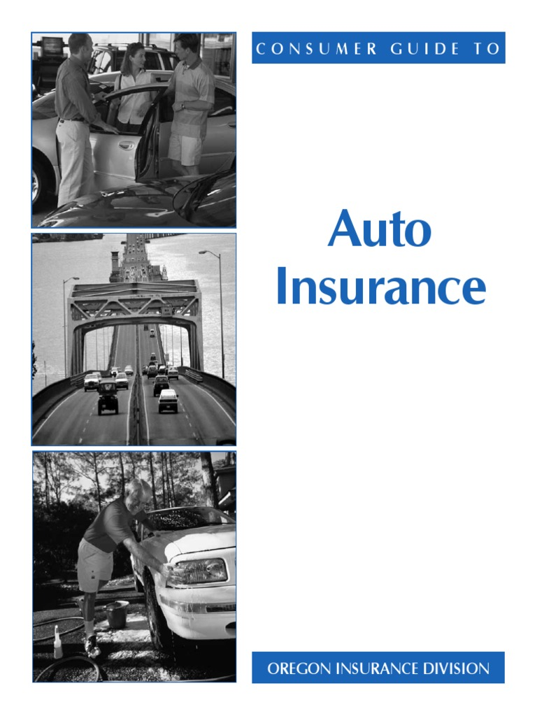 Auto Insurance: Consumer Guide To   Vehicle Insurance ...