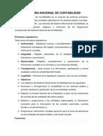 El Sistema Nacional de Contabilidad (Ver Ley en PDF)