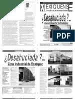 Versión impresa del periódico El mexiquense  4 noviembre 2013