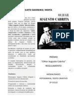 Regulamento Prémio Augusto Cabrita 2ºciclo