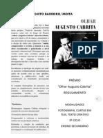 Regulamento do Prémio Augusto Cabrita-3ºciclo e secundário