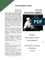 Regulamento do Prémio Augusto Cabrita Pré-escolar CARICATURAS