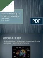 Neuropsicologia e relações humana
