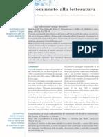 Il commento alla letteratura - Autophagy in lysosomal storage disorders