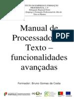 Manual Word Avançado 2007 IEFP