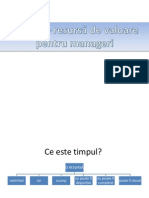 Timpul - Resursa de Valoare Pentru Manageri.ppt