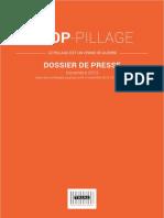 Stop Pillage - Dossier de presse