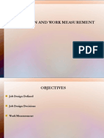 Job Design and Work Measurement.