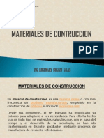 Materiales de Construccin