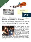 Acidente próximo ao aeroporto  Pres. João Suassuna mata mulher de Queimadas