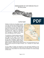 The Human Consequences of US foreign policy in Fallujah