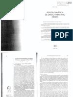 Borges, José Souto Maior - Um ensaio interdisciplinar em Direito Tributário - superação da dogmática