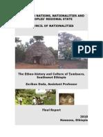 The Ethnohistory & Culture of Tambaro Nationality of Ethiopia
