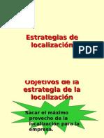 Localización de Plantas y Empresas