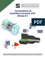 Wprowadzenie Do Symulatora Toczenia CNC
