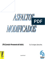 Asfaltos Modificados CPA