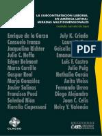 Subcontratacion Laboral en America Latina