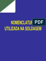 Nomenclatura Utilizada Na Soldagem