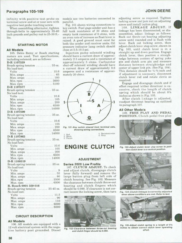 jd 2030 kvačilo pdf clutch transmission mechanics