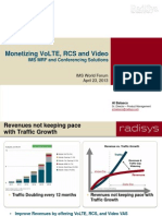 Monetizing VoLTE, RCS and Video IMS MRF and Conferencing Solutions