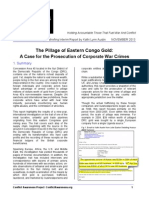 Stop Pillage - OSJI/CAP Briefing Report