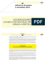 Dossier de Presse Boulevards