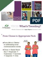 Technology (ICT)