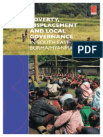 Poverty, Displacement and Local Governance in South East Burma/Myanmar-ENGLISH