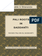 Pali Roots in Saddaniti