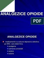 Analgezice opiacee