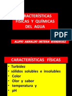 Caract. Fcas.y Qcas.del Agua